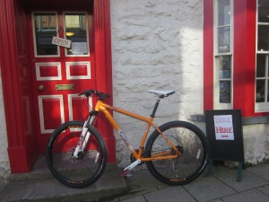 voodoo bike, Carningli Centre