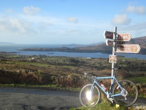 A bike ride, Beara Way, Ireland